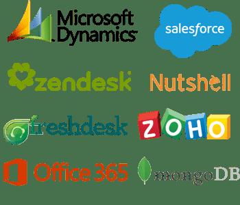 CRM software logos