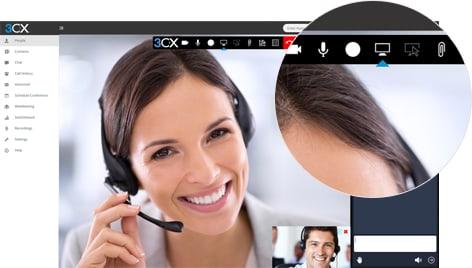 3CX handleiding webconferentie